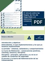 Administración de Consecuencias Training Pack Spanish