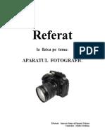 Aparatul Fotografic