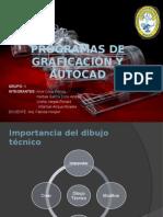 Programas de Graficación y AutoCad