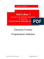 Kid´s Box 1 2Edition PDidactica LOMCE 2015