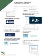 Manual Configuracion Multipoint