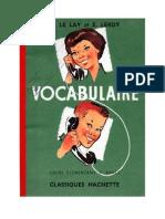 120250206 Langue Francaise Vocabulaire 01 CE1 H Le Lay Et E Leroy