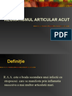 Power Point Reumatismul Articular Acut