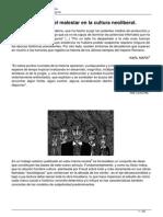 El Psicoanalisis y El Malestar en La Cultura Neoliberal