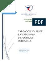 Cargador Solar de Celulares