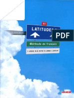 Latitudes 3 Methode de Français