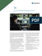 Motorola ALPR Spec Sheet
