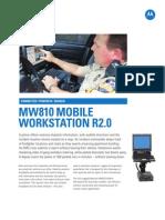 MW810 R2 Product Spec Sheet