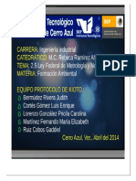 2.5 Ley Fderal de Metrologia & Normalizacion