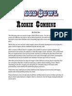 Blood Bowl Rookie Combine