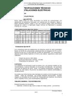 02 Especificaciones Técnicas Eléctricas