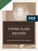 official upper class recipe book pdf