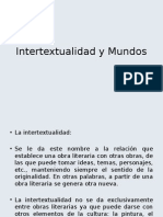 Intertextualidad y Mundos