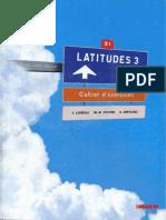 Latitudes 3 Cahier Dexercices