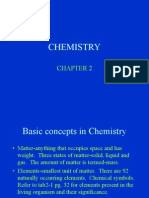 Basic Concepts in Chemistry