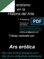 Prehistoria. El erotismo en la Historia del Arte