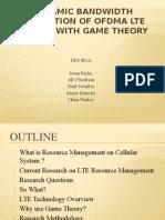 Lte Resource Management