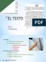 3. EL TEXTO