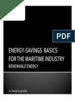 Energy Saving Basics - Renewable Energy - Greek Section