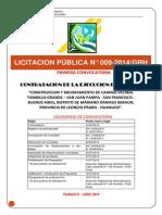 Bases Administrativas 009-2014 C.v Tambillo Grande