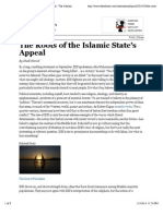 The Roots of the Islamic State's Appeal - Global - The Atlantic
