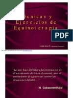 Tecnicas y Ejercicios de Equinoterapia