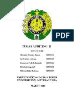 Tugas Auditing II ( Ke - 1 )
