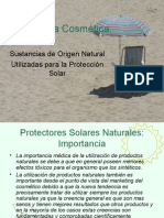 Presentación protectores naturales