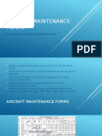 aircraft maintenance forms lecture