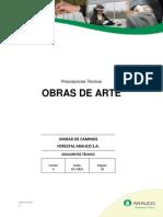 Procedimiento Constructivo de Obras de Arte en Carreteras