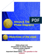 Alloys and Their Phase Diagram