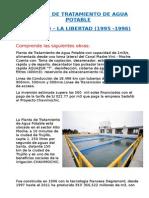Planta de Tratamiento de Agua Potable - Trujillo