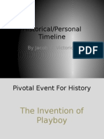 ush historical and personal timeline