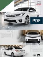Nuevo Corolla Catalogo 2015