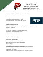 07106 Edital Processo Seletivo Bolsistas Jornalismo Contea Do Maio 2015