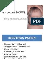DISKUSI SENTRAL - SINDROM DOWN.ppt