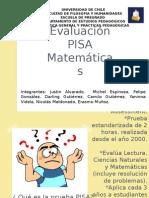 Evaluación PISA Matemáticas