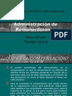 Administración de Remuneraciones