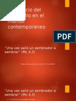 1El Anuncio Del Evangelio en El Mundo Contemporaneo