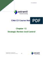 Astranti - E3 Notes - Chapter 12