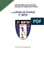 Modelo de Projeto Da Escolinha de Futebol