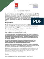 Factsheet WBSO Subsidie 2010