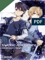 Sword Art Online Vol 9 (Aliciza - Reki Kawahara