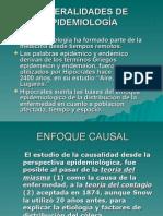 Generalidades de Epidemiologia