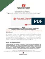 Convocatoria Organizacion Consejos Locales de Juventudes Liberales Bogotá