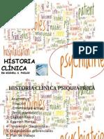 Historia clínica Psiquiátrica