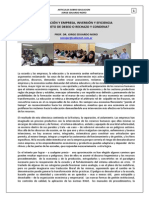297. EDUCACION + ECONOMÍA, EMPRESA, CAPITAL Y SOCIEDAD