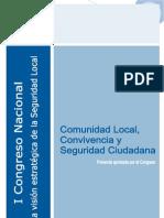Comunidad Local, Convivencia y Seguridad Ciudadana[1]