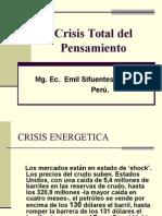 Crisis Total Del Pensamiento