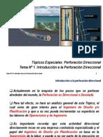 1. Tema Nº 1. Introducción a La Perforación Direccional 1-2015